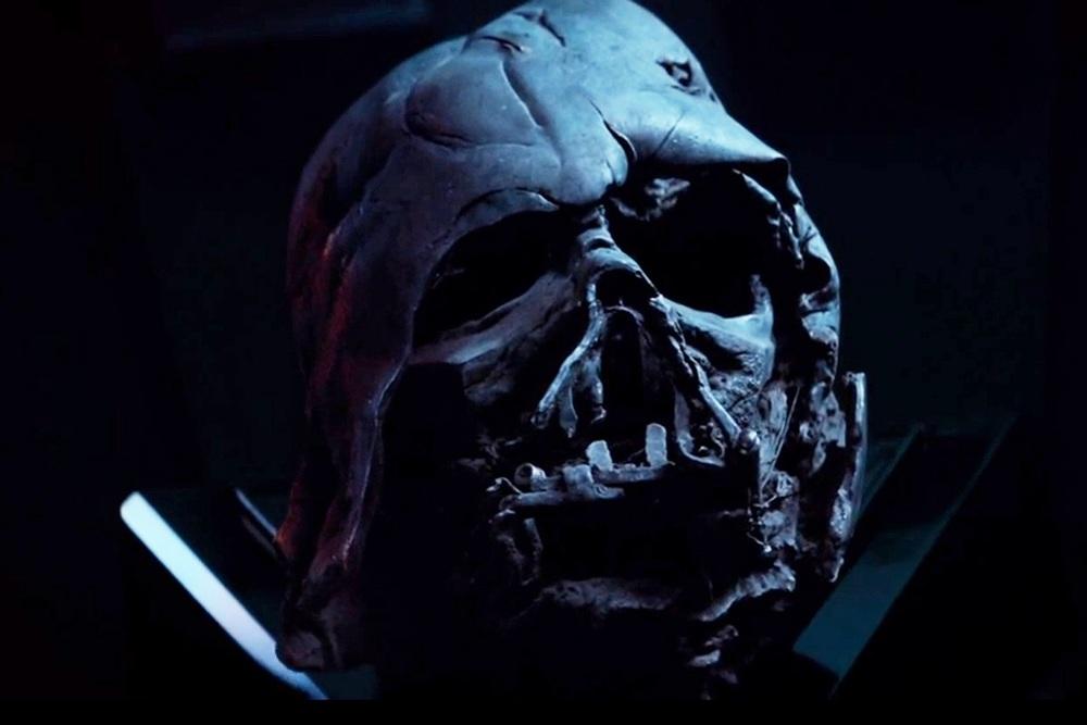 Reclaimed Darth Vader helmet...