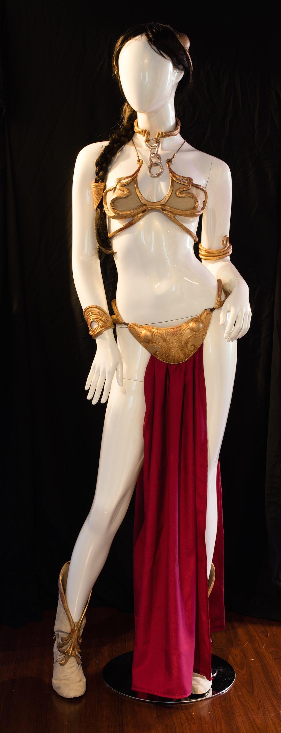 "Princess Leia's ""Sold"" Bikini"