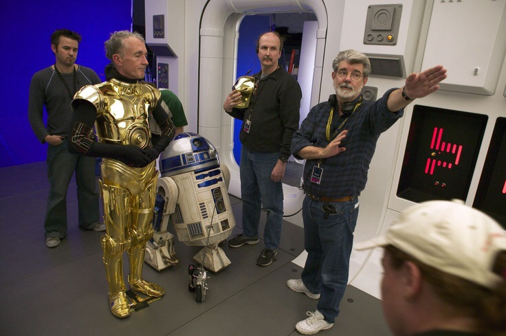 C-3PO was complete in Star Wars Episode III Revenge Of The Sith
