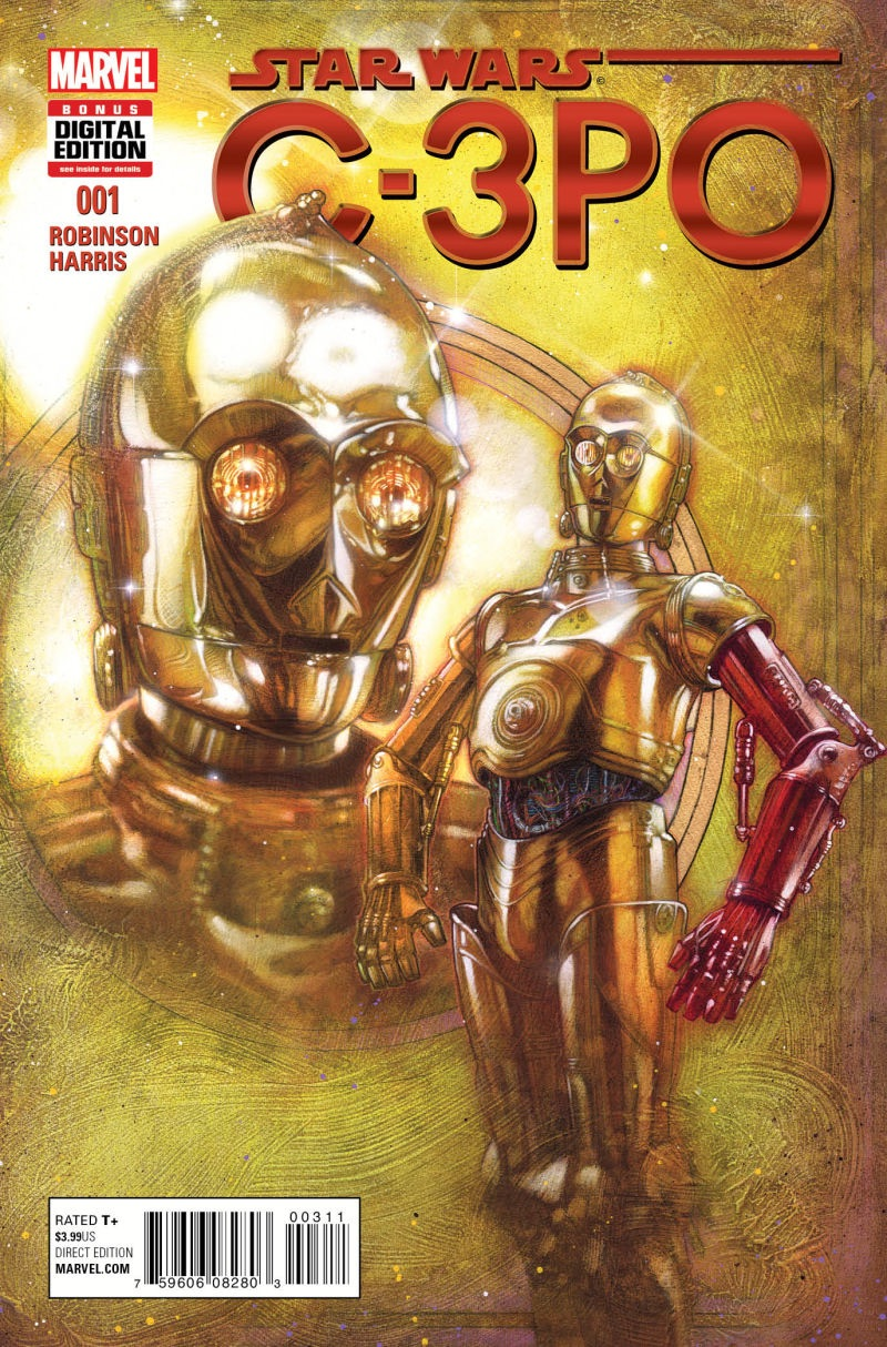 The C-3PO comic book will be released in February 2016