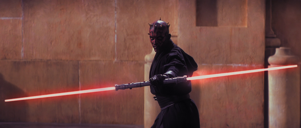 Darth Maul upped the stakes but lacked emotion...