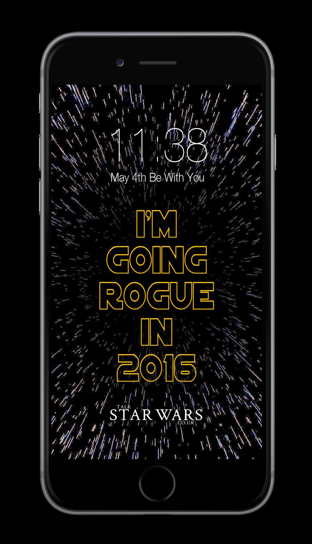 Pick up a unique Star Wars wallpaper.
