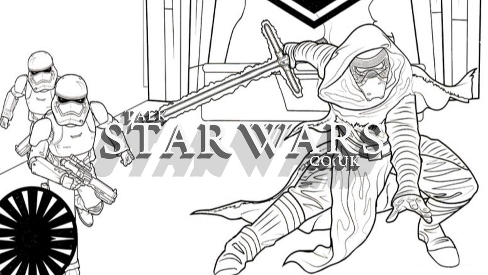 Good Star Wars Colouring Book Pages
