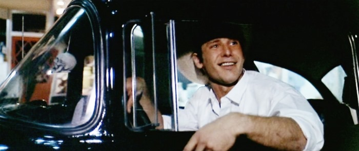 Harrison Ford as Bob Falfa in American Graffiti