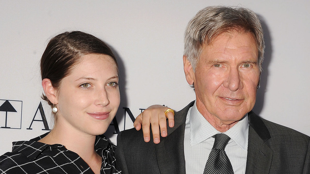 Harrison Ford with daughter, Georgia