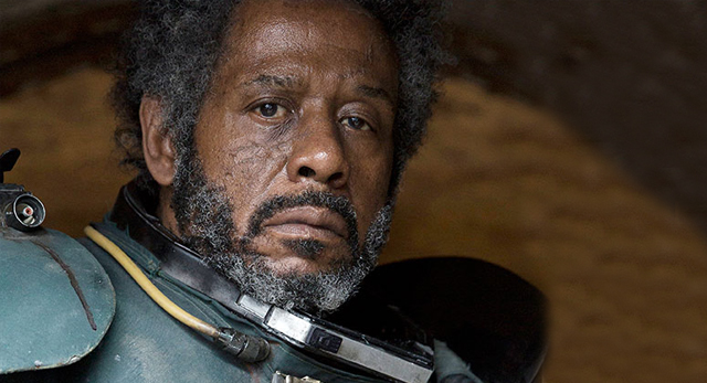 Saw Gerrera with hair....