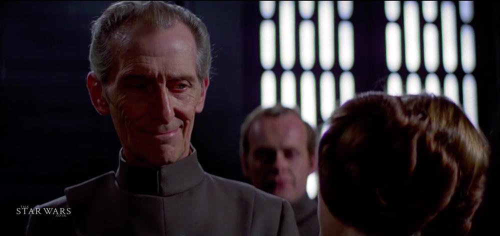 Tarkin in Star Wars Episode IV A New Hope