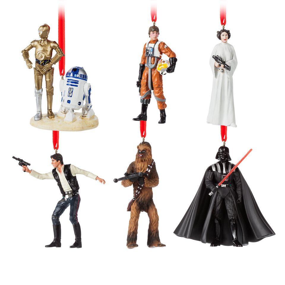 Star Wars Ornament Set