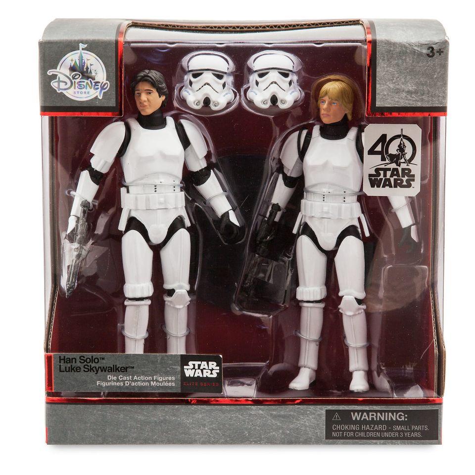 Han Solo and Luke Skywalker Deluxe Elite Series Set