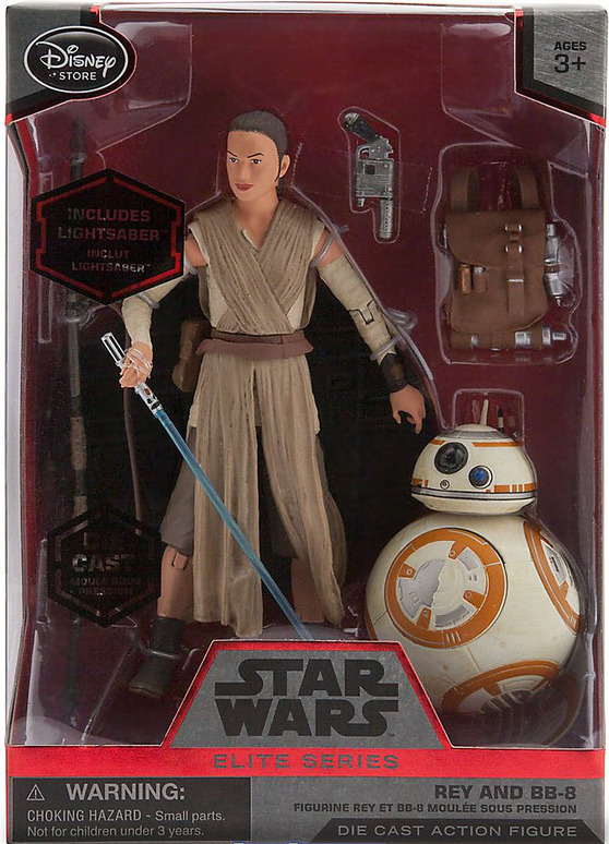 Re-Release post TFA of Rey with the blue lightsaber