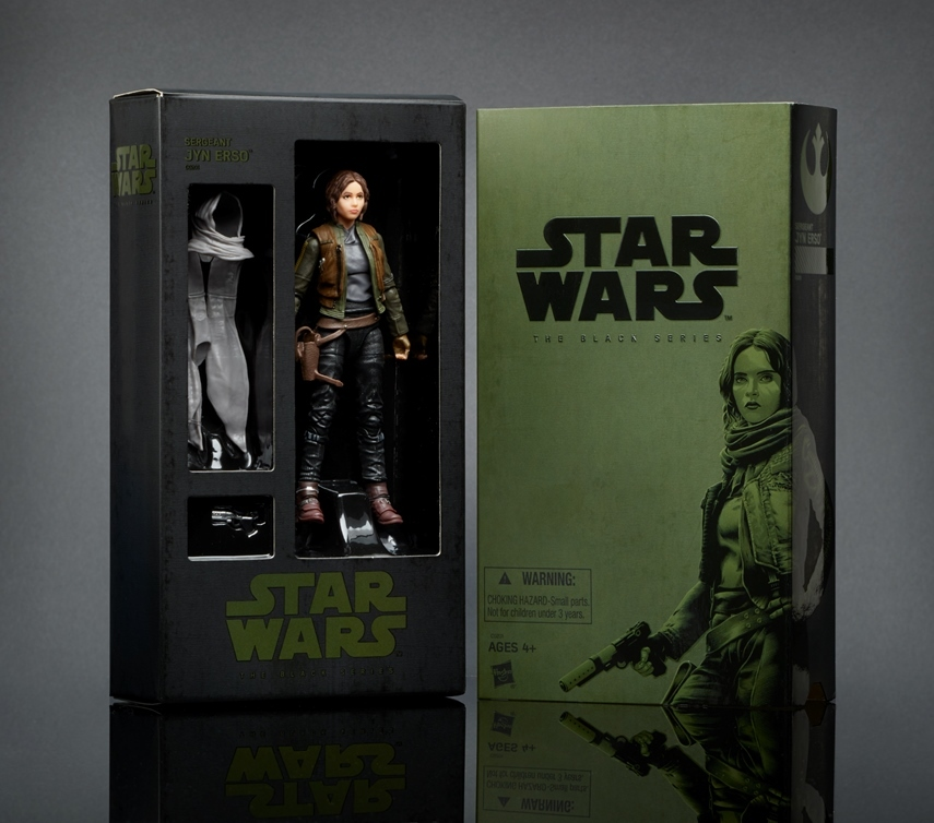 2016 SDCC Black Series Exclusive - Jyn Erso