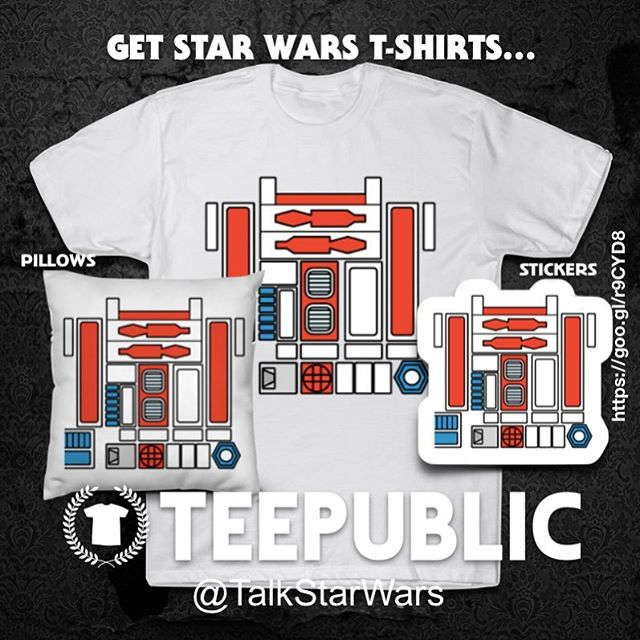 #R5D4 #kenner #Vintage #Decal inspired #tshirtdesign Dress like R5-D4! Bad motivator not included. #StarWars #ANewHope #ActionFigures