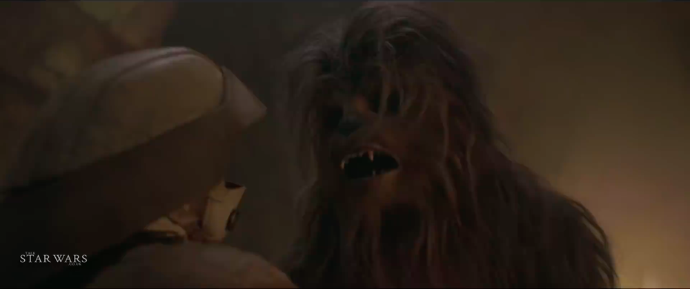 Chewbacca securing his escape from Mimban?