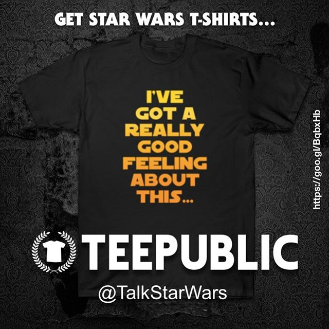 "#SoloAStarWarsStory ""I've got a really good feeling about this..."" #quote #tshirtdesign now in our @teepublic store! #StarWars #Solo #HanSolo"