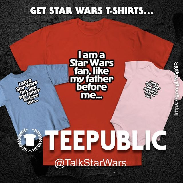 I am a #StarWars fan, like my father before me... Pick up this Star Wars fandom themed #tshirtdesign for you and your kids, even the smallest future star wars fan can share their love... #StarWars #Quotes #quotestoliveby