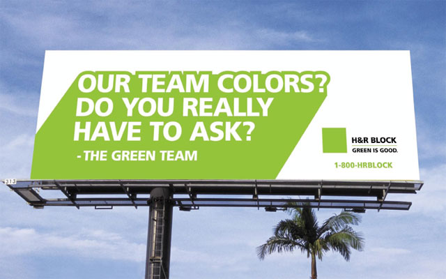 HnR Block Billboard