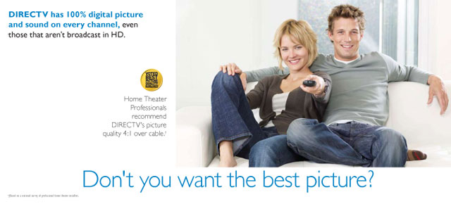DirecTV and Phillips HD TV Brochure