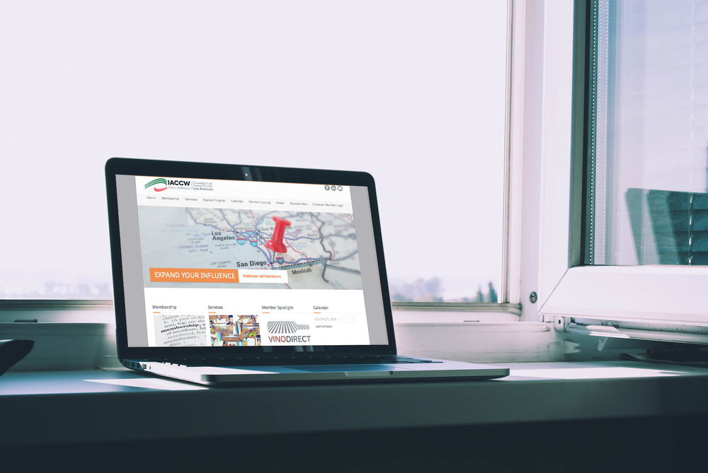Italy-America Chamber of Commerce West Website