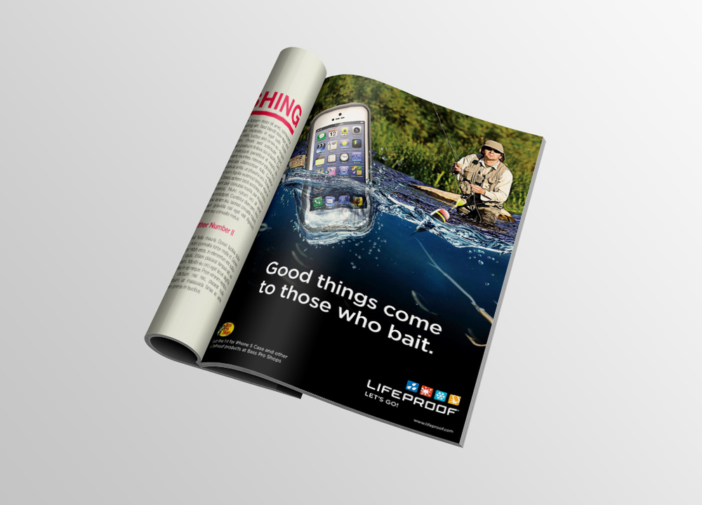 LifeProof Bass Pro Shops Ad