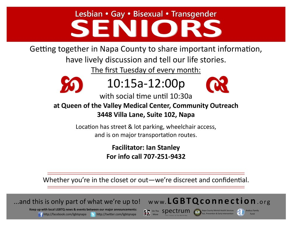 LGBT Seniors Older Adult Discussion Group Napa Flyerv3.jpg