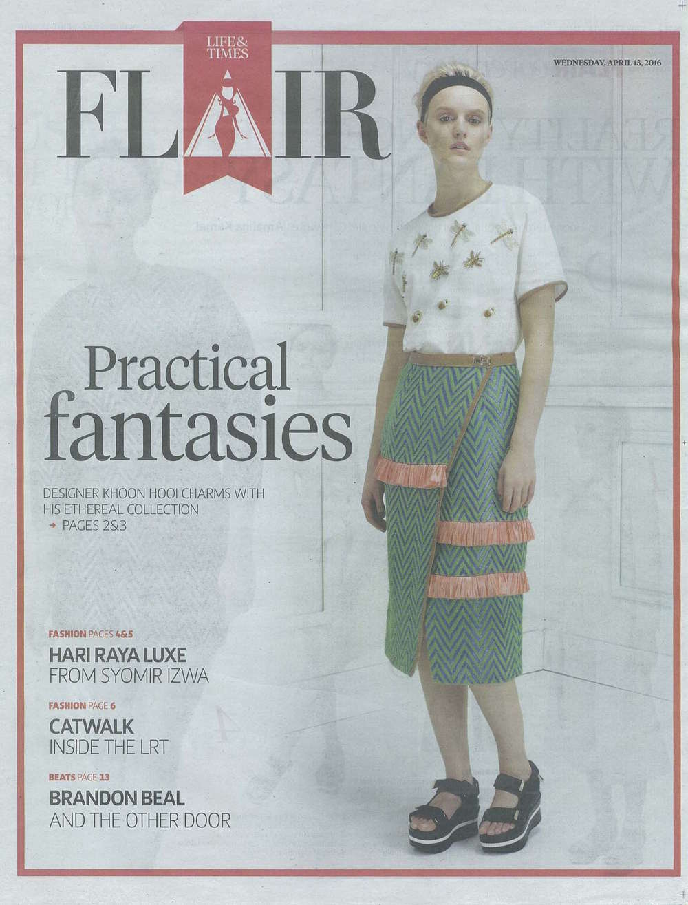 New Straits Times Apr 2016