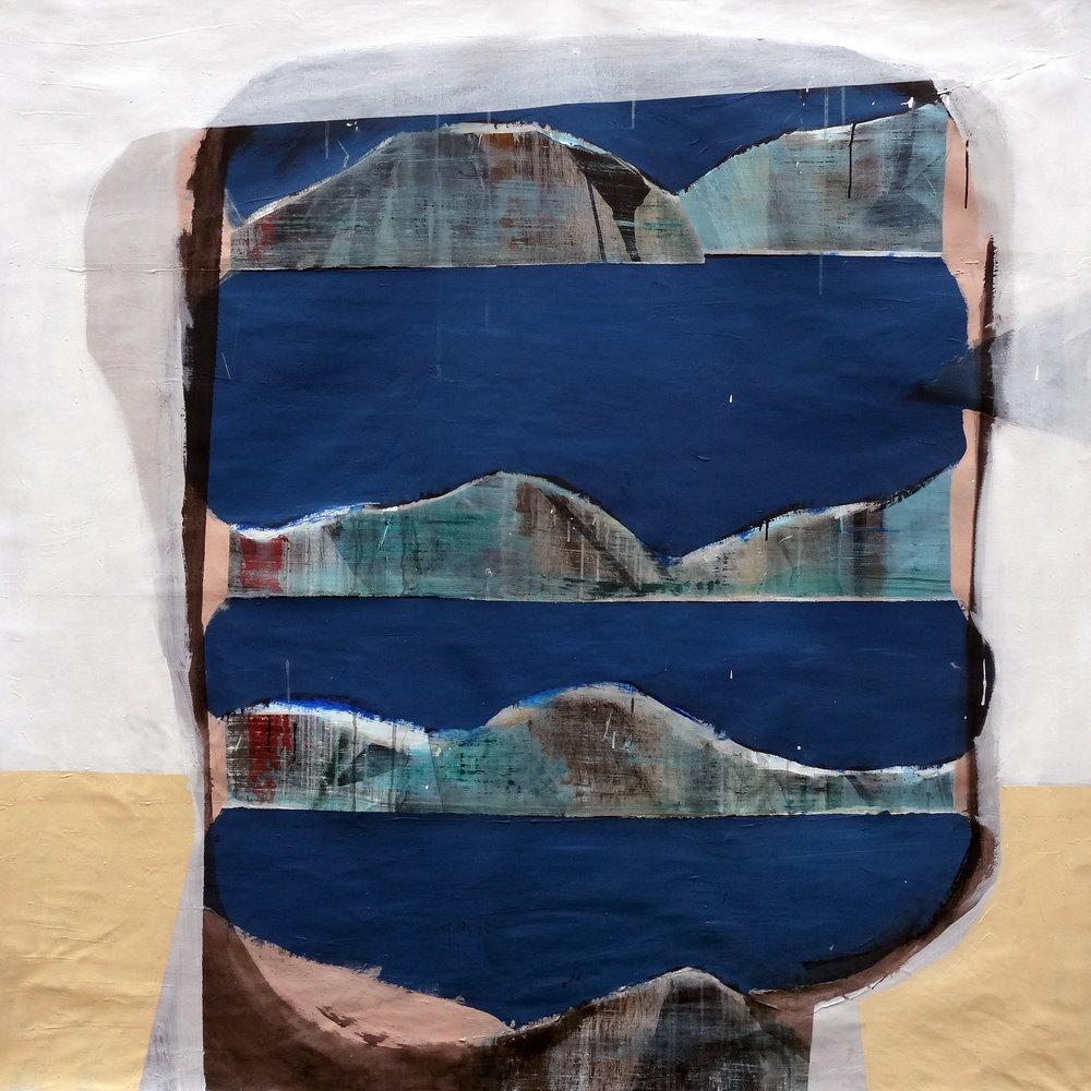 Cabeca , 2016  , 140 x 140 cm Acryiic on canvas