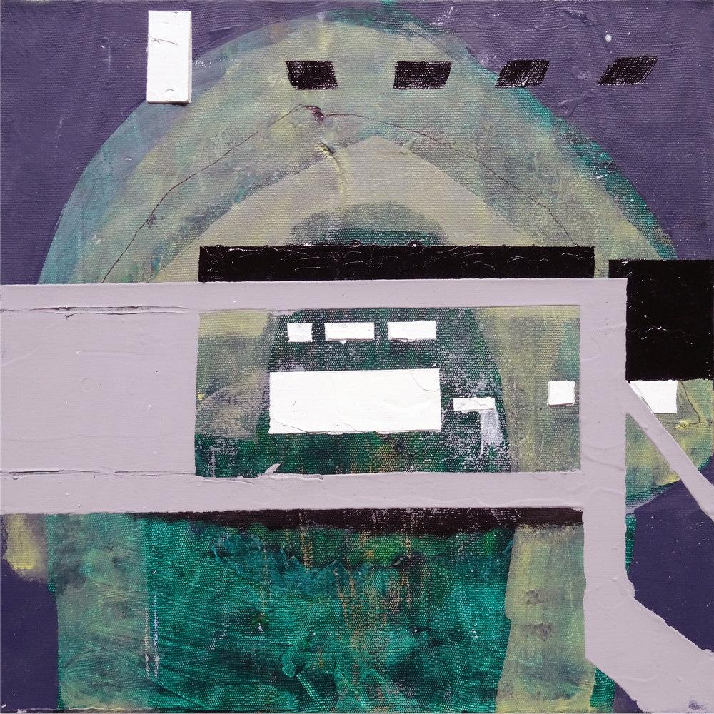 Vertigem , 2016 , 30 x 30 cm Acrylic on canvas