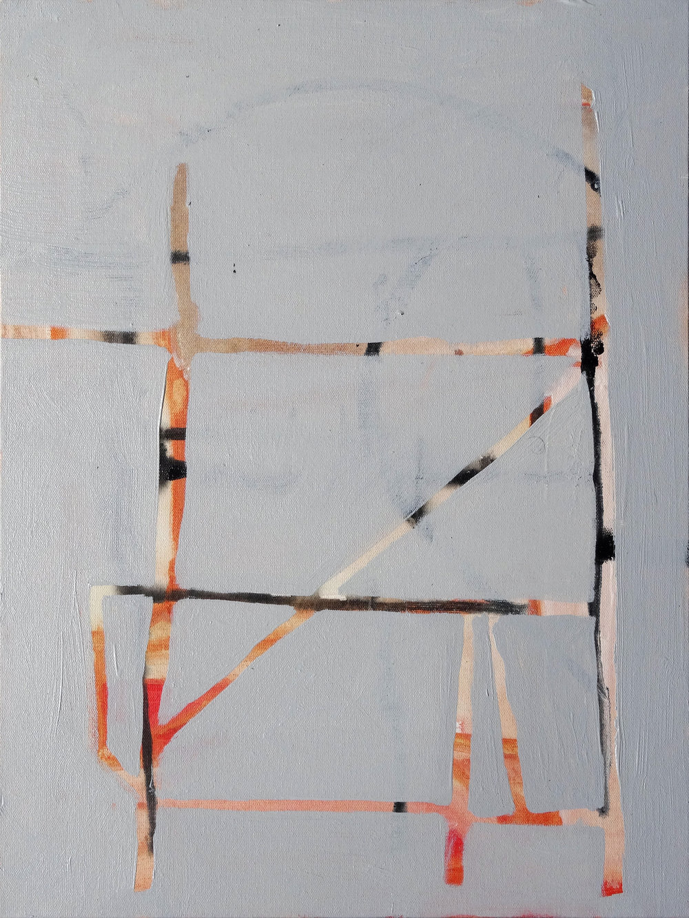 2017, 40 x 30 cm, Acrylic on canvas