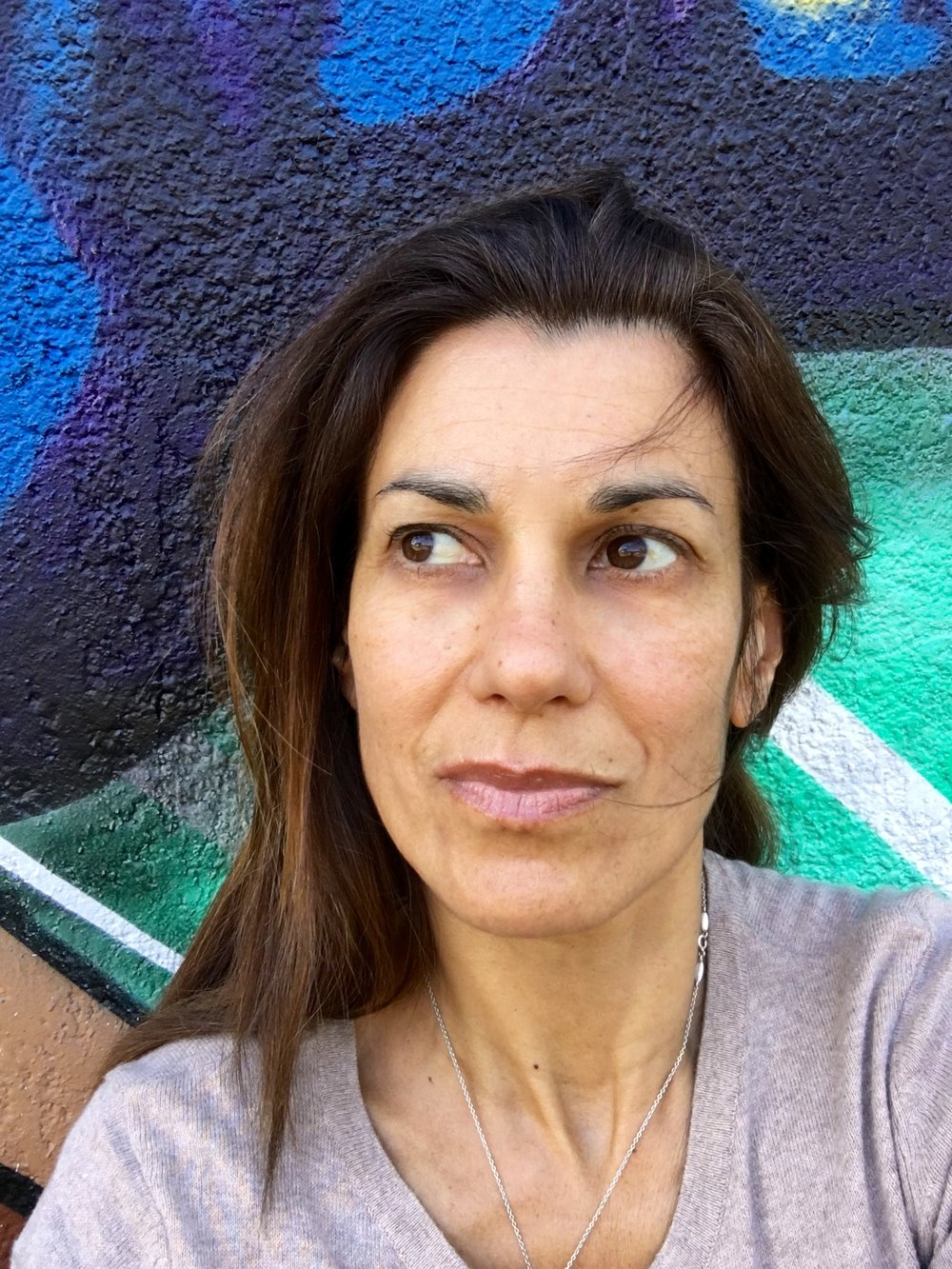 "Cassia Bundock is a contemporary artist and curator working from Bayview.Cassia was born in May 2, 1963 in a bohemian central district of São Paulo called Bixiga where she was raised. She played the piano from the age of 7 up to her teenage years. She has practiced and has followed contemporary dance from early age. She started to paint in 1992 and had her first group show in 1997 at a bar in the sophisticated neighbourhood of Jardins.Cassia came to live in Australia in 2000. She studied at the UNSW Art & Design and has curated four exhibitions in Sydney: Into Africa, 2002, Lace in Alagoas- a nexus of art, sea and women, 2016; interfluxo, 2017 and Invisible Bridges, 2018.Cassia's practice circulates in the sphere of the hybrid. She blends the aesthetic and the poetry of her European/Indigenous Brazilian background with her contemporary life as a diaspora. Her work tends to carry spirituality, history and semiotics framed with elements of the Baroque and the Modernism particularly the Brazilian Neo- Concretism, Dada and Primitivism.""I always found art powerful. I am interested in the kind of power that art holds that can change everything"" -"