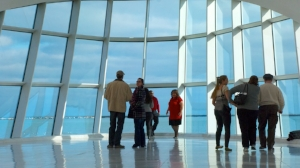 Hop off at the Milwaukee Art Museum to visit the stunning Calatrava entrance.