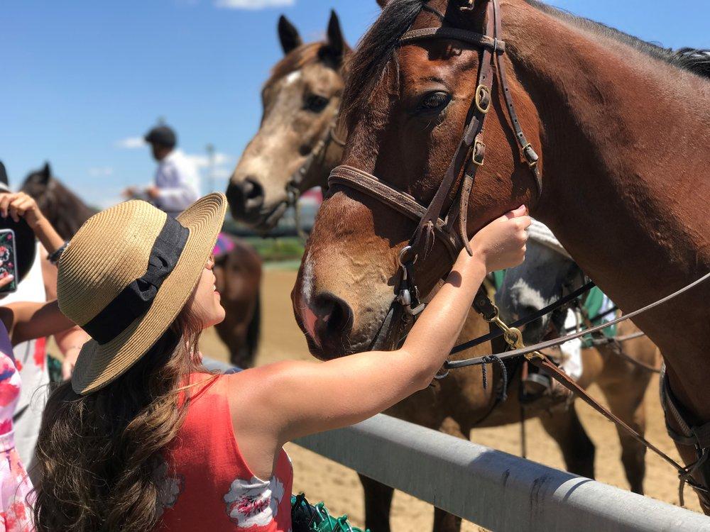 Petting horses - Churchill Downs.jpg