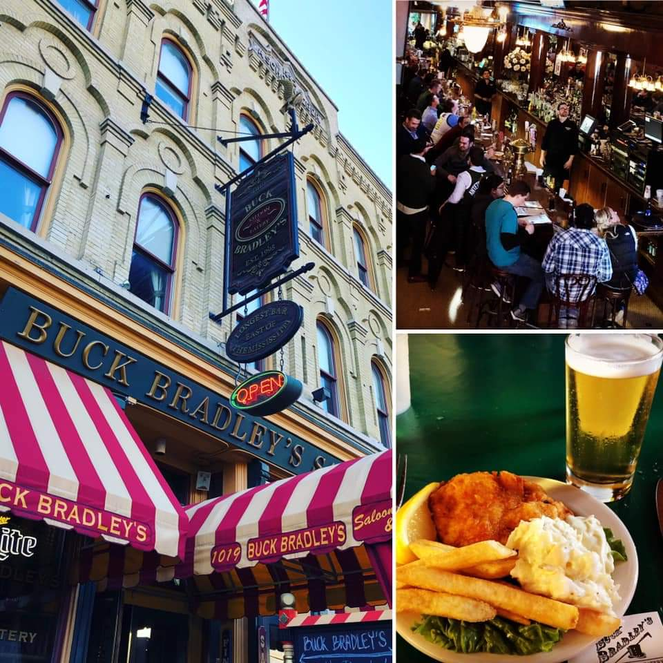 Buck Bradley's has been serving it's famous Fish Fry since 1992.