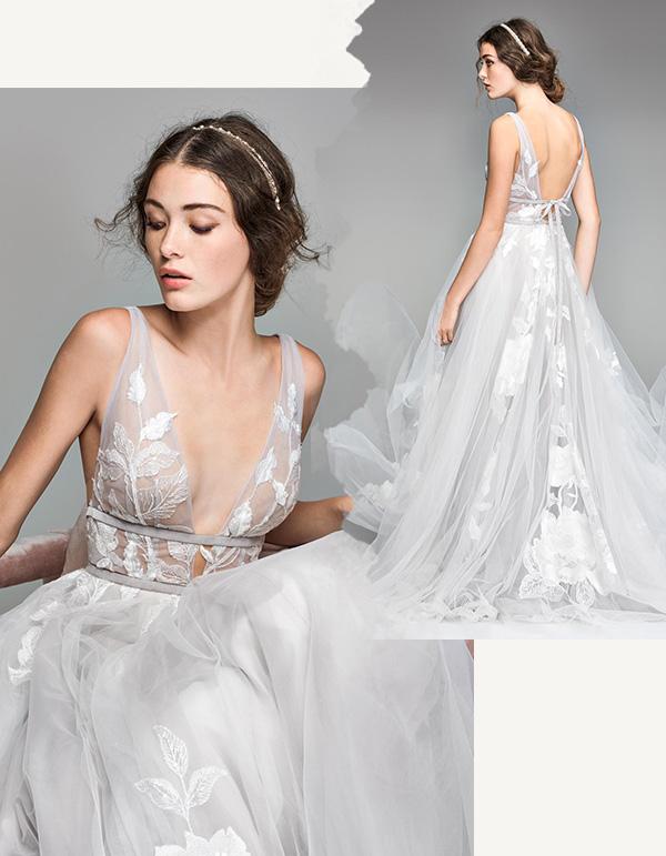Atelier Ferrari Bridal abiti da sposa a Roma, Italia Italy - Watters brides Galatea