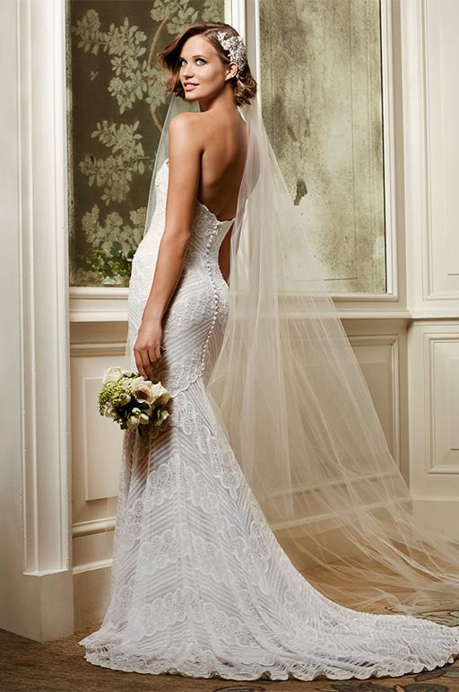 Atelier Ferrari Bridal abiti da sposa a Roma, Italia Italy - Watters brides Pippin dress gown