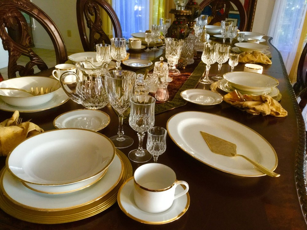 Mariby Corpening's Breakfast Table Setting