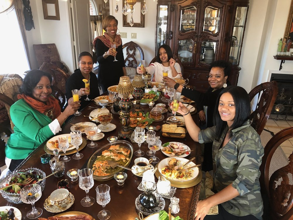 """The Colored Women's Eating Club,"" what I call, ""A Brunch Experience."""