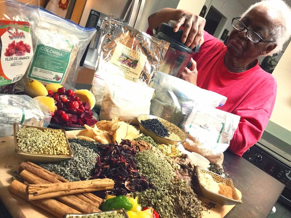 GRANNIE'S NATURAL HEALTH TONICS -