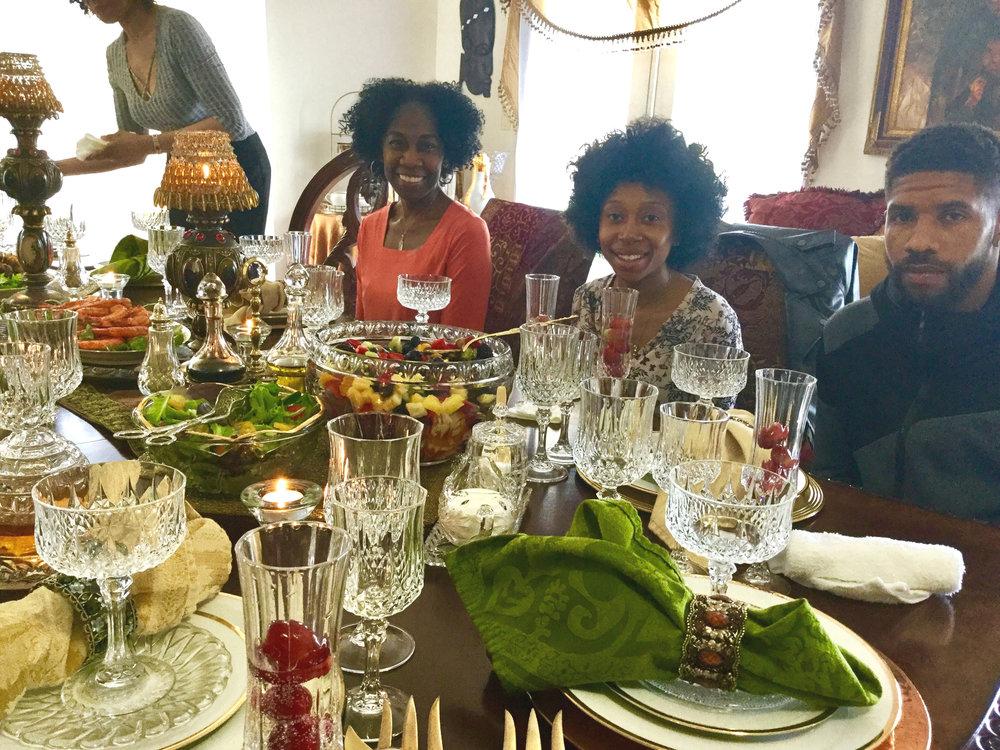 FAMILY DINING (Birthdays, Anniversaries, Holidays, etc.) -