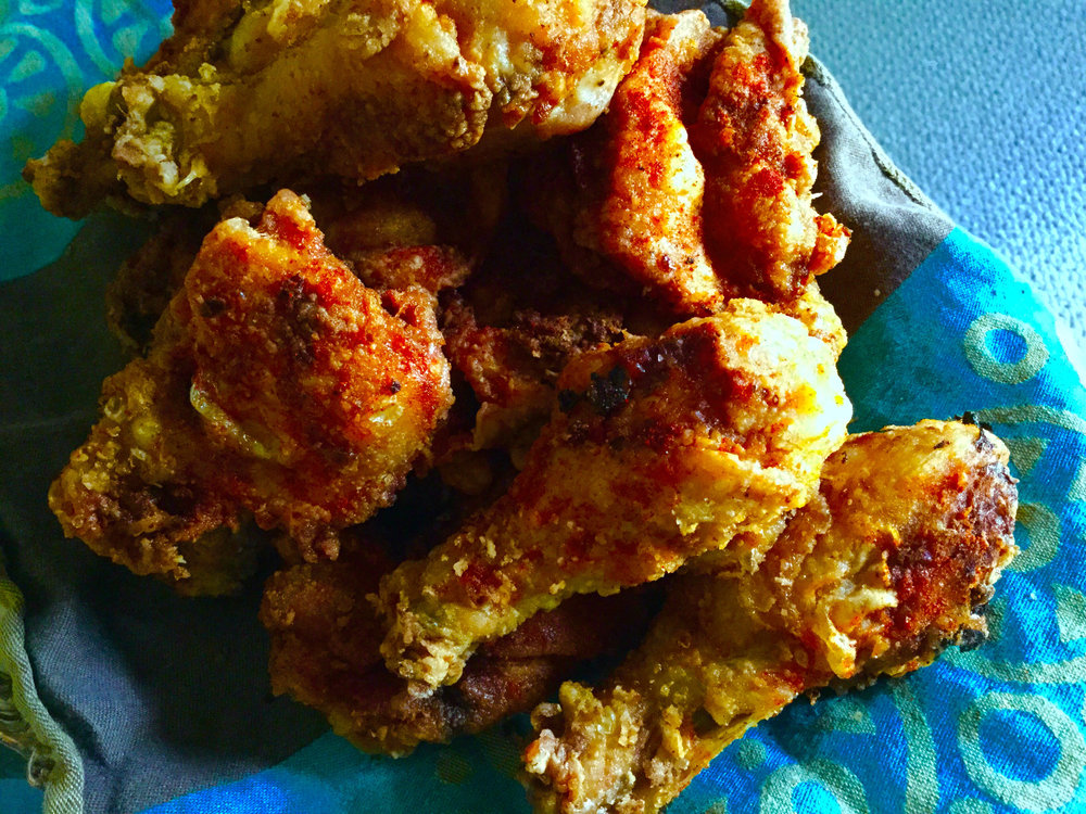 Mariby Corpening's Peruvian-Spiced Fried Chicken