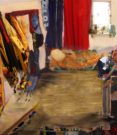 Bedroom, 2003, 34 x 26 inches, Edition of 6, Archival digital print on paper