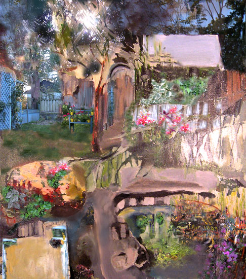 Janet's Garden, 2004, 23 x 26 inches, Edition of 3, Archival digital print on paper