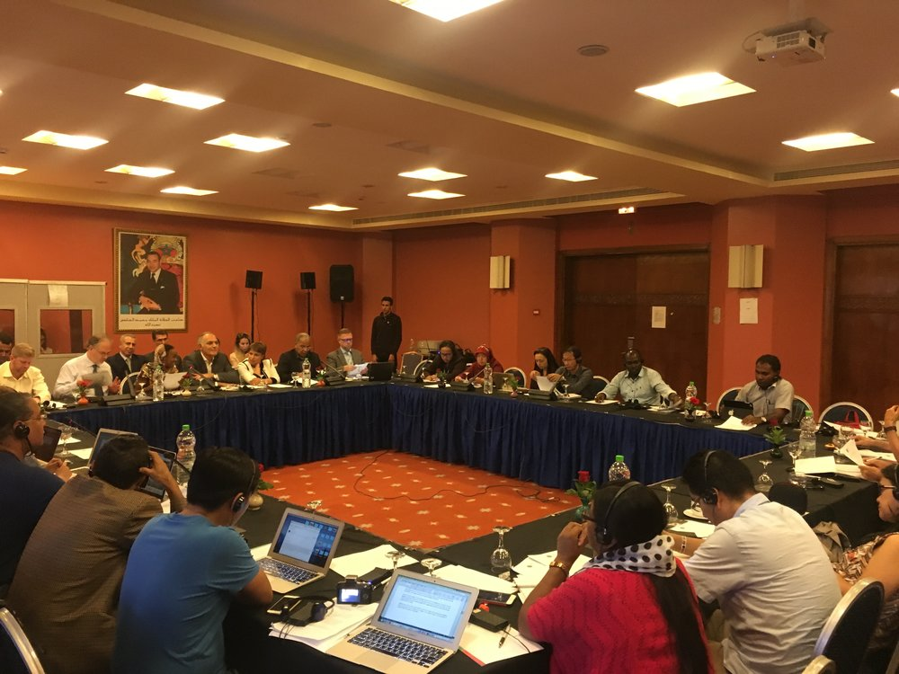 Indigenous Peoples' Dialogue with UNFCCC Parties, 5 Nov 2016, Hotel Meridien, Marakech Morocco