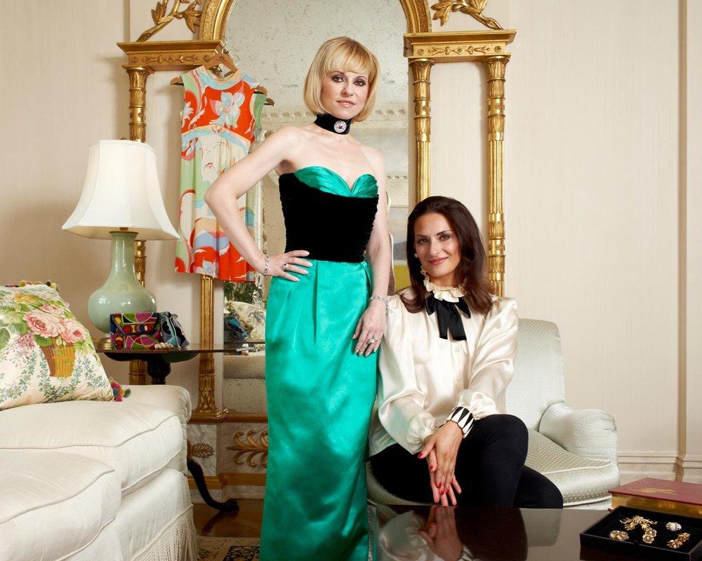 Yuliya Kaspler & Carmen Haid