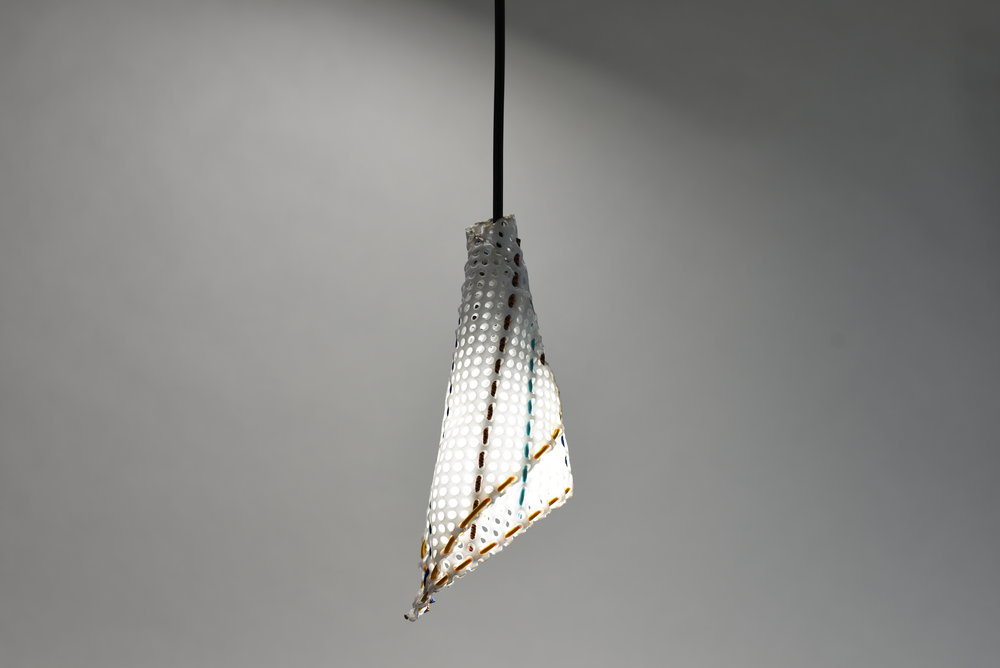 Bungee cone lamp