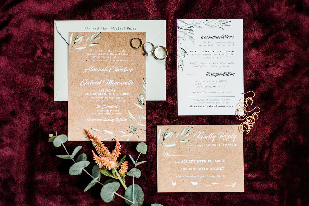 I loved their simple invitation design. It reflected the event so well.