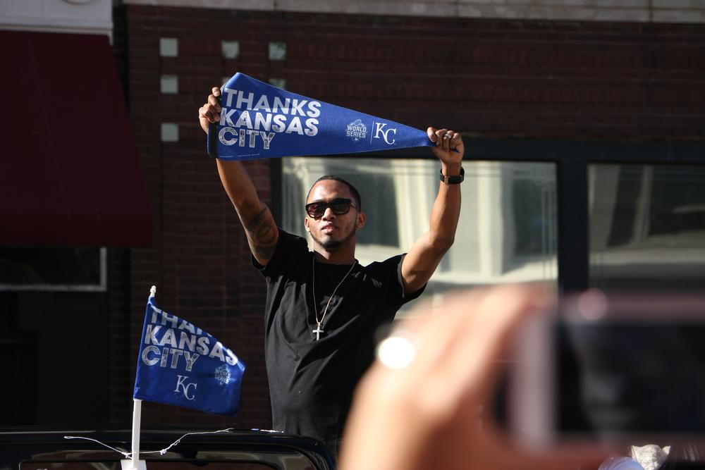 Kansas City Royals shortshop Alcides Escobar, the 2015 ALCS MVP.