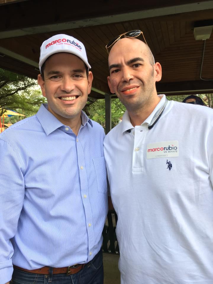 Florida Senator Marco Rubio & Elnatan Rudolph