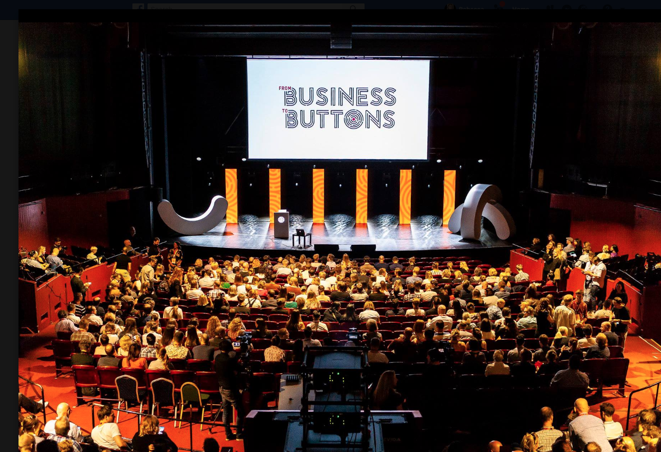 From Business to Buttons Conference - Stockholm May 2018