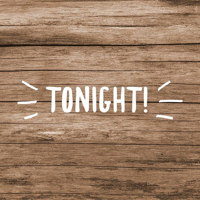 O N E • H O U R  It's almost time! We cannot wait to see YOU tonight! Come out ready to have the best time of your life!