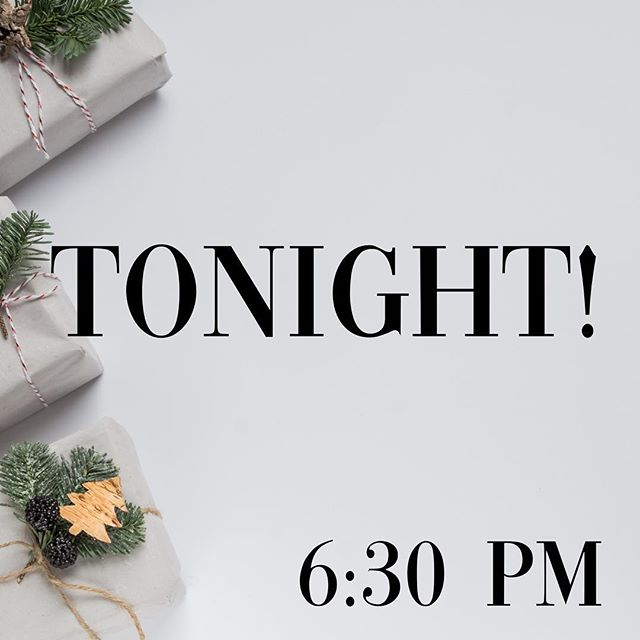We cannot wait to see you tonight! Christmas service is in full affect. Come hungry and ready for an awesome time!